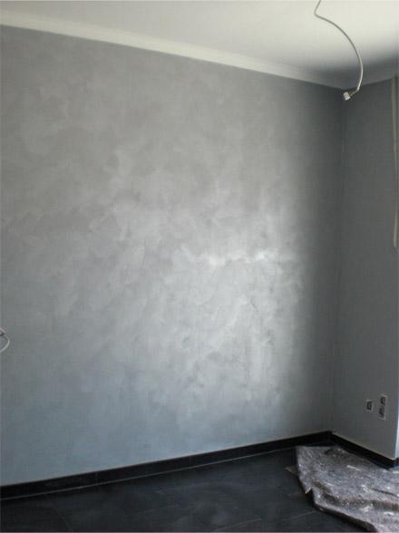 Wandgestaltung Putz